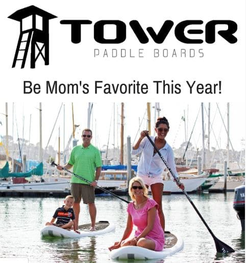 Mothers Day paddleboard promos